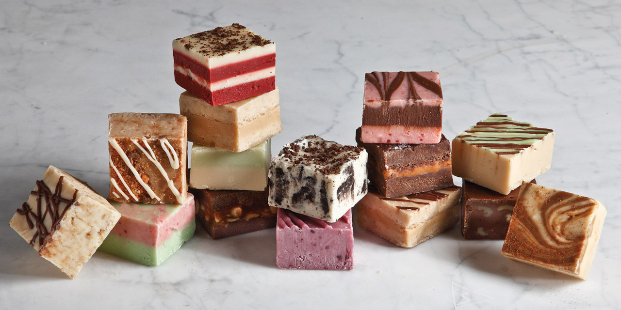Homemade Fudge at the Nut House