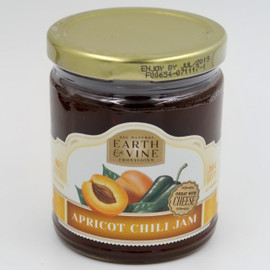 California grown apricots and premium dried Mexican chili peppers, create a jam that is sweet with a kick of heat. Versatile and delicious, use to glaze chicken, pork or lamb. Create wonderful pan sauces when mixed with meat drippings. Top goat cheese, warmed Brie or cream cheese and serve with crackers or bread. Serve with home made biscuits and butter. Whip into cooked sweet potatoes with butter and a pinch of salt. Great with Cheese ~ Gluten Free ~ All Natural