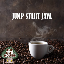 <p>Jump Start Java signature blend coffee beans: start your day with a jolt, bold, heavy-bodied and earthy.</p>