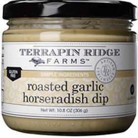 Roasted Garlic Horseradish Dip – This dip packs a powerful, pungent punch of lip-smacking goodness! Roasted garlic and velvety horseradish dip are blended together creating an intensely delicious topper for steaks and chops, roast beef, pastrami or corned beef.  Perk up shrimp or chicken wraps. Intensify onion rings, sweet potato fries or keep it simple with a pretzel or a chip! Gluten Free.  Keto Friendly. Low Carb. Low Sugar.  Dairy Free.  Simple Ingredients * Intense Flavors