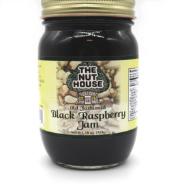 Did you know that black raspberries contain three times the antioxidants found in blackberries? This delicious jam is made with 100% natural ingredients and no artificial sweeteners or colors, plus it is seedless for a smooth texture.  Ingredients: Sugar, black raspberries, water, pectin, citric acid. Produced by equipment handling nuts.