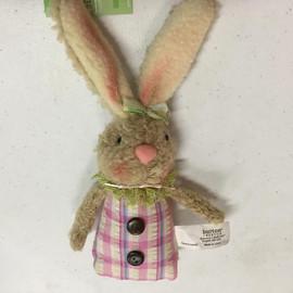 Beige Bunny Ornament
