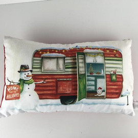 "10"" x 17"" pillow with removable insert"