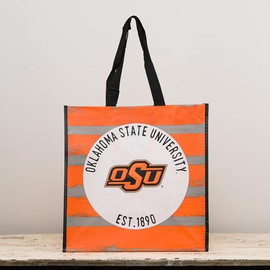Everyone loves our totes! Show your Oklahoma State collegiate allegiance wherever you go. Go Pokes!