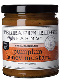Pumpkin puree, cinnamon, ginger, nutmeg and allspice are blended with honey mustard to create an incredible condiment. You will not run out of ways to enjoy this amazing mustard. Perfect on a ham or turkey sandwich, pour over goat cheese or brie, or mix with cream and use as a sauce for chicken and pork or cheese ravioli.