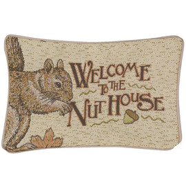 """This adorable pillow will make a great conversion piece or gift. Measures 12"""" x 8"""""""