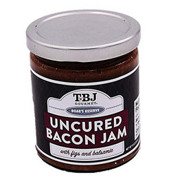 Sit back and relax, our Balsamic Fig Bacon Jam is the perfect pairing for a nice glass of wine and cheese!