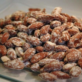 Smoked almonds are an addictive snack that are sure to please