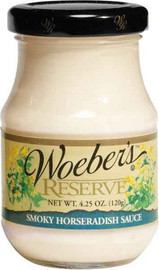 Woeber's is a great compliment to your favorite sandwich meats. Just a hint of mesquite flavoring gives this horseradish sauce a new twist.