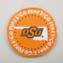 The perfect Oklahoma State burlee for the football fan! This burlee is ready to be displayed every fall Saturday or in your college students dorm!