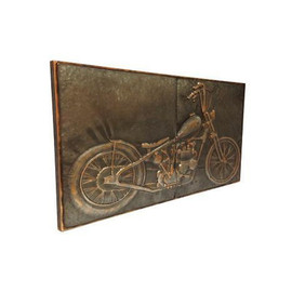 Chopper Metal Wall Decor