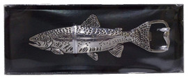 About 5 Inches long Made of solid zinc Attractively boxed Fantastic detail and quality A unique and useful gift for any fish lover on your list