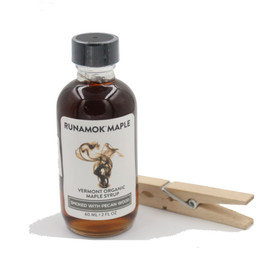 Through a proprietary method, Runamok has developed a smoked maple syrup that will deliver both sugar and smoke to any dish or cocktail. Not a good choice for pancakes, this syrup is great drizzled over dishes such as chili, BBQ or glazed root vegetables.