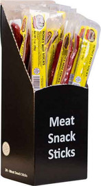 Troyer Honey Beef Sticks have a touch of honey for the perfect sweetness. Individually wrapped to seal in the flavor.