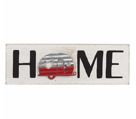 "Sometimes your home is your camper. Perfect gift for anyone's ""home away from home""."