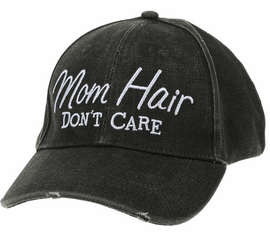 Cover up that bad hair day with this all-too-true message cap.