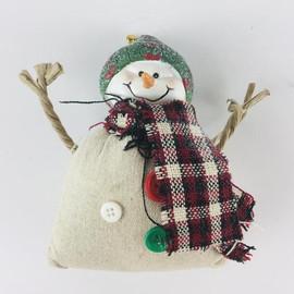 Canvas Sack Snowman