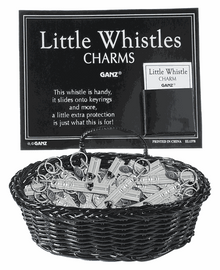 Whistle Charm