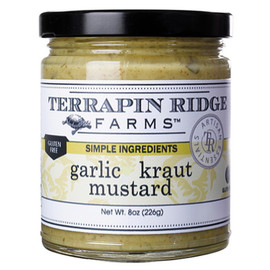 Garlic Kraut Mustard by Terrapin Ridge