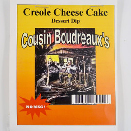 Boudreaux's Creole Cheesecake mix