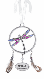 Spread Your Wings And Fly Dragonfly Ornament