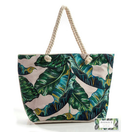 Avenue 9 Tropical Retreat Jumbo Leaf Tote