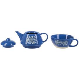 Folk Art Floral Tea For One