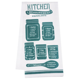 Kitchen Measurements Towel