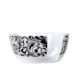 Black Damask Florentine Sponge Holder by Michel Design Works