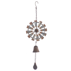 Kinetic Windmill Wind Chime