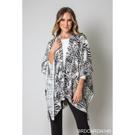 Feeling Fierce Bordeaux Cardi Wrap