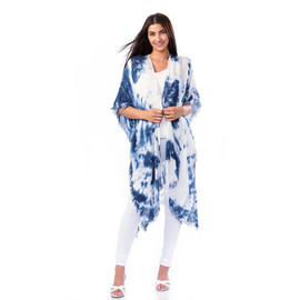 Long Tie Dye Cover Up