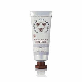 Cedar scent beeswax hand cream in a tube