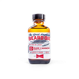 Budweiser Beard Oil Made with Budweiser Beer, which delivers protein for healthy beards A warm, cedarwood scent will give the hardest working beards with a rugged, yet refined, essence Size: 3 oz.