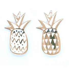 Gold Pineapple Trinket Dish