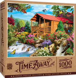 Cascading Cabin 1000 PC Puzzle