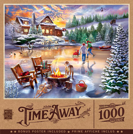 An Evening Skate 1000 PC Puzzle