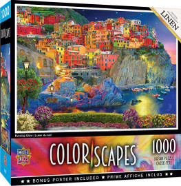 ColorScapes Evening Glow 1000 PC Puzzle by MasterPieces