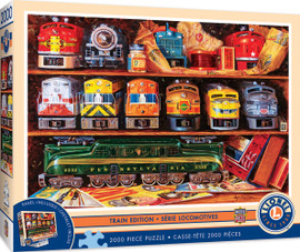 Well Stocked Shelves 2000 PC Puzzle