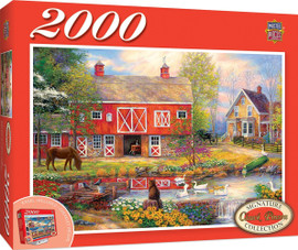 Reflections on Country Living 2000 PC Puzzle