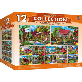 Alan Giana 12 Pack Puzzle Bundle