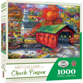 The Sweet Life 1000pc Chuck Pinson Linen puzzle