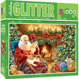 Christmas Dreams 500 PC Glitter Puzzle