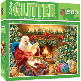 Christmas Dreams 500 PC Glitter Puzzle
