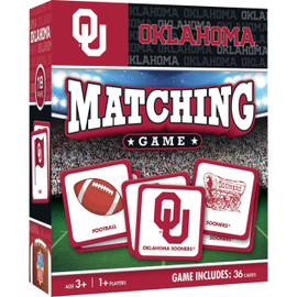 Oklahoma Matching Game Sooners