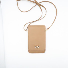 Classic Elegance Leather Cell Phone Purse