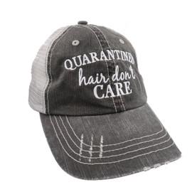 Quarantined Hair Don't Care Trucker Hat