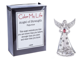This Angel of Strength figurine reminds you that you are braver than you believe.