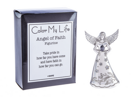 This Angel of Faith figurine reminds you to take pride in how far you've come.