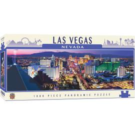 City Panoramics Las Vegas Panoramic 1000 Piece Panoramic Jigsaw Puzzle